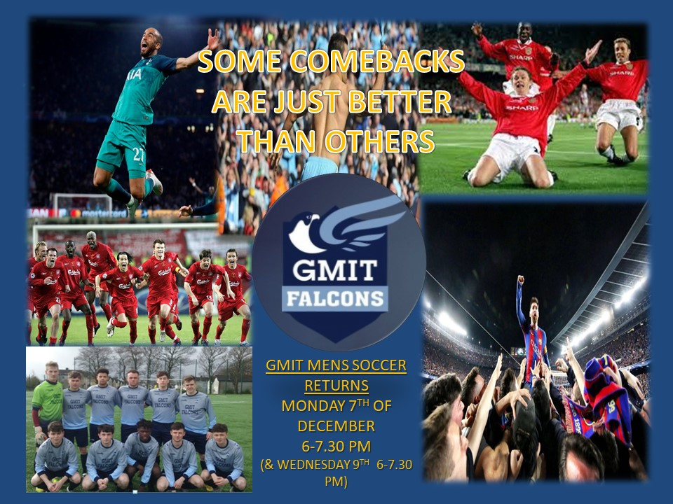 GMIT Falcons FC Return to Action